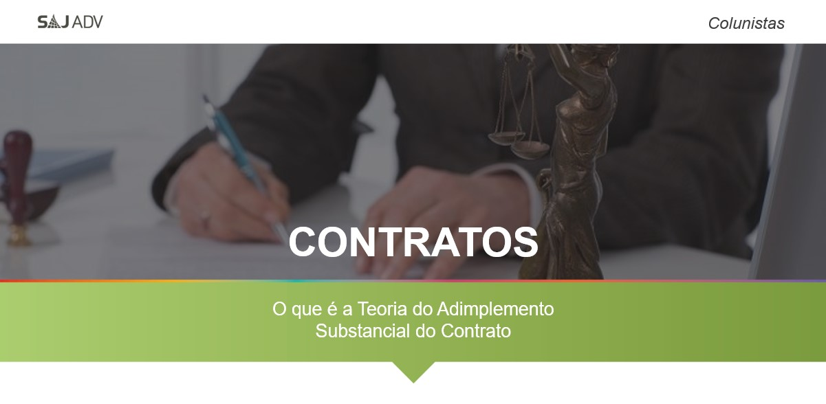 teoria do adimplemento substancial do contrato