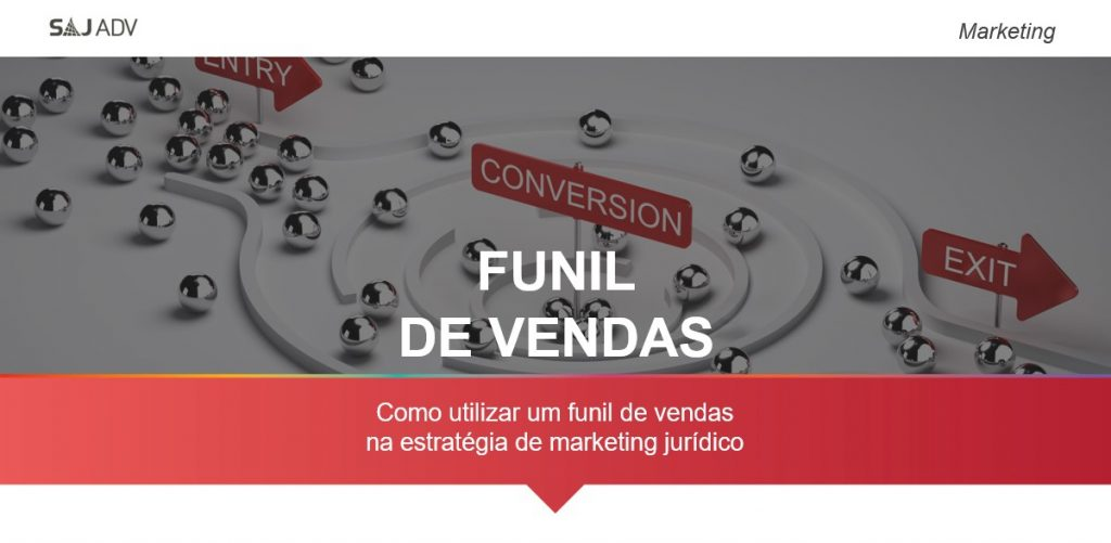 funil de vendas no marketing jurídico
