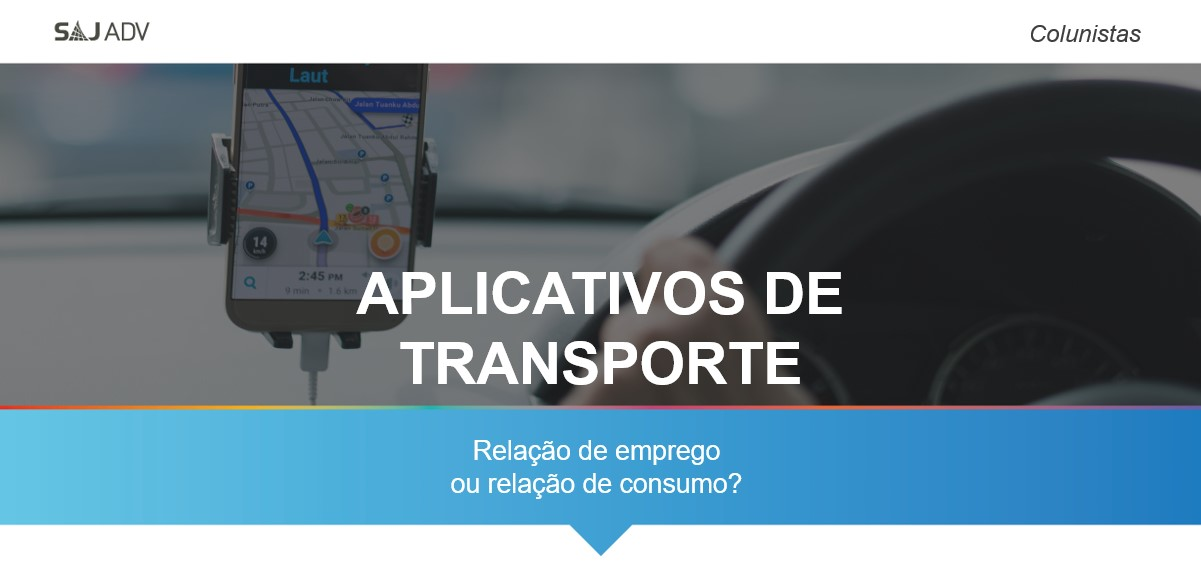 aplicativos de transporte